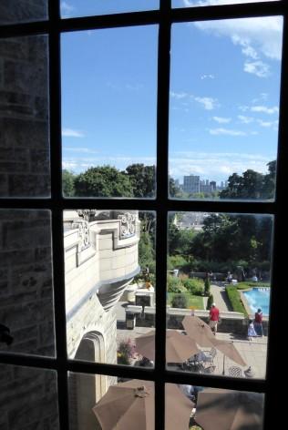 Blick aus den Gemächern von Lady Mary
